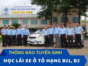 Thong Bao Chieu Sinh Hoc Lai Xe