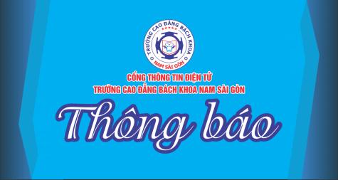 Thông báo Trườn Cao đẳng Bách khoa Nam Sài Gòn