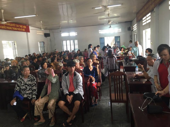 Hoạt động khám và chữa bệnh miễn phí tại Tây Ninh của Khoa Y dược - Trường Cao đẳng Bách khoa Nam Sài Gòn
