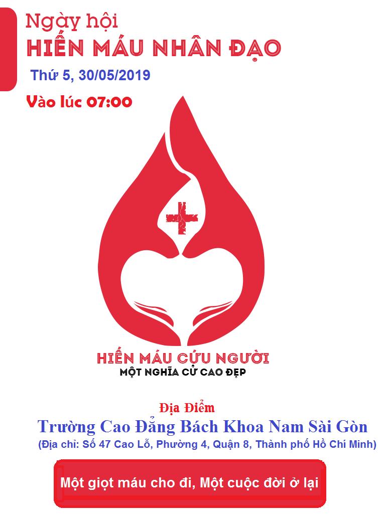 Hiến máu tình nguyện lần 2 năm học 2018-2019
