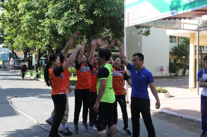 Hội thao Khối thi đua 1 - Khối giáo dục nghề nghiệp năm 2019