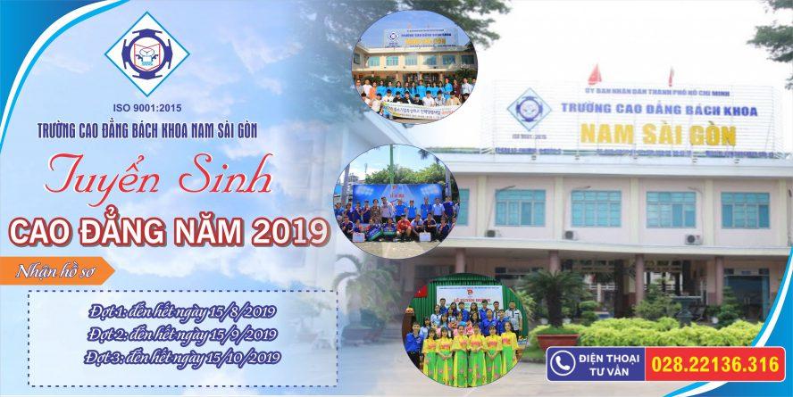 Tuyển Sinh Cao đẳng 2019 (banner)