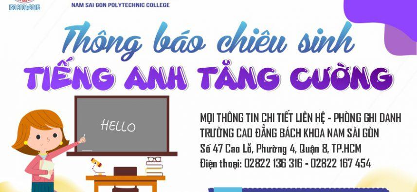 Chieu Sinh Tieng Anh Tang Cuong
