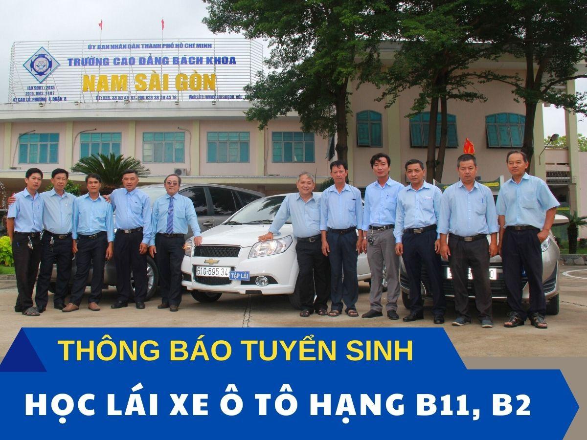 Thong Bao Hoc Lai Xe B11 B2