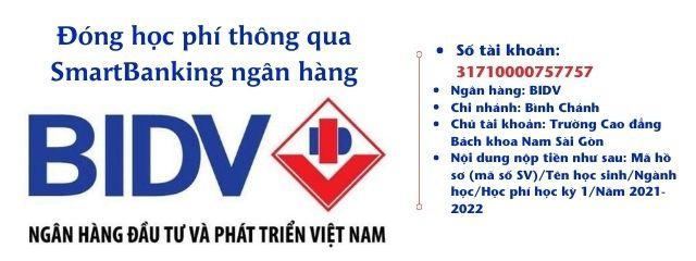Dong Hoc Phi Thong Qua Smartbanking Ngan Hang